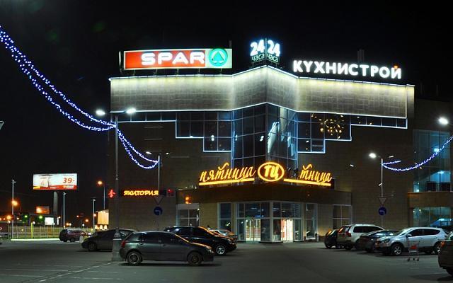 подсветка зданий светильниками